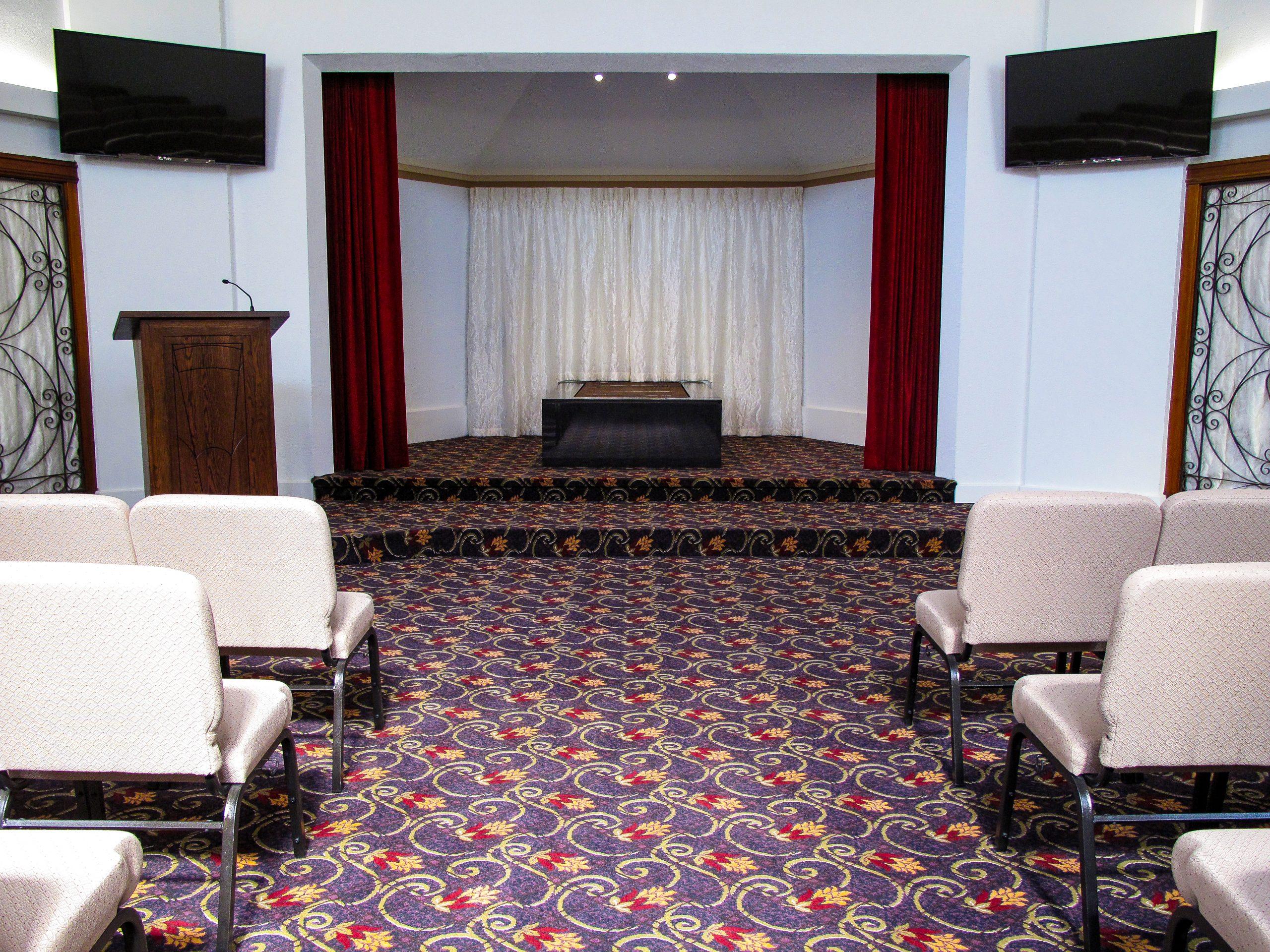 Canterbury Crematorium Inside - Venues | Bell, Lamb & Trotter